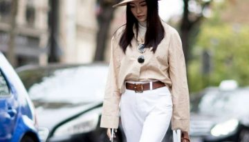 Get a Look of Runway Models with Straw Boater Hats